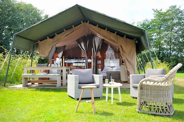 Lodgetent Campsite Le Bontemps - Vernioz - Tenda
