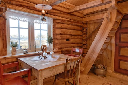 """The Sheep shed"", rustic cottage at dairyfarm - Gausdal - Cabin"