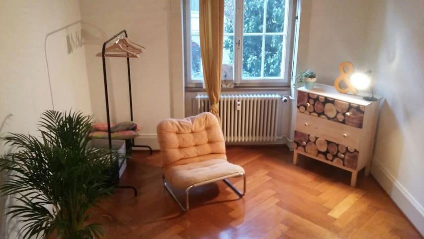 Geniesse Basel in gemütlicher zentraler Wohnung - Βασιλεία