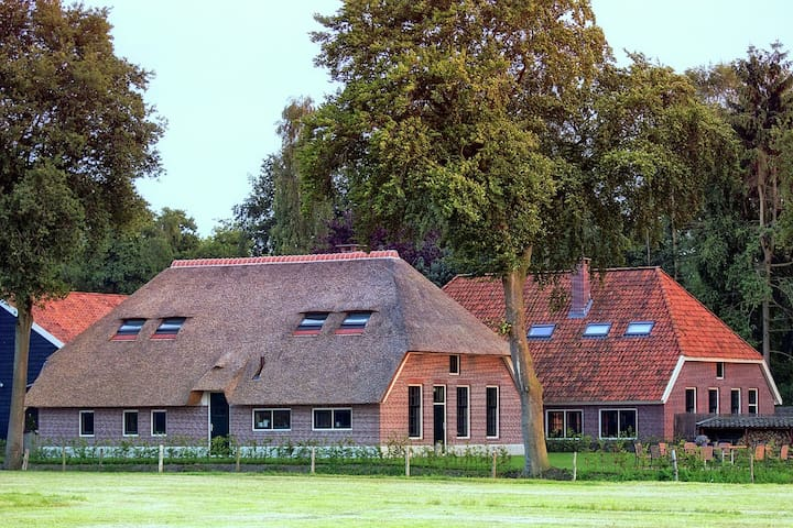 Group accommodation Doornspijk located in the Veluwe