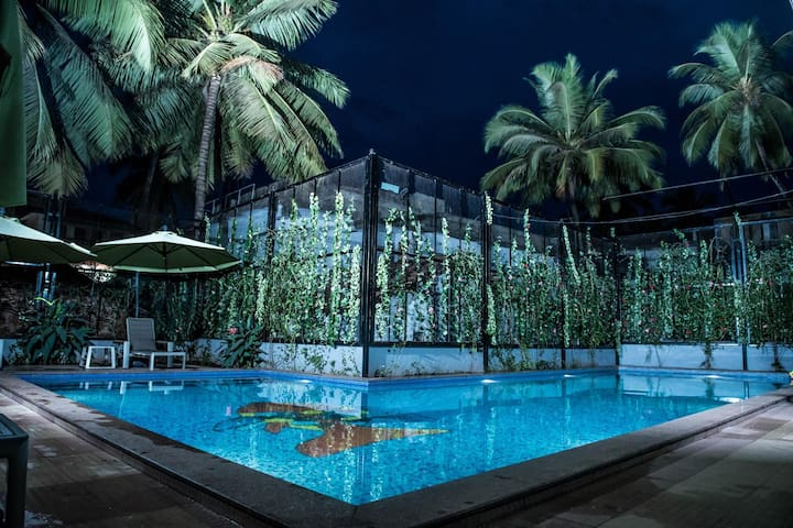Marvellous Superior Stay With Awesome Pool Near Calangute