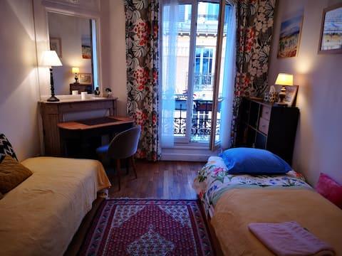 Chambre individuelle et calme