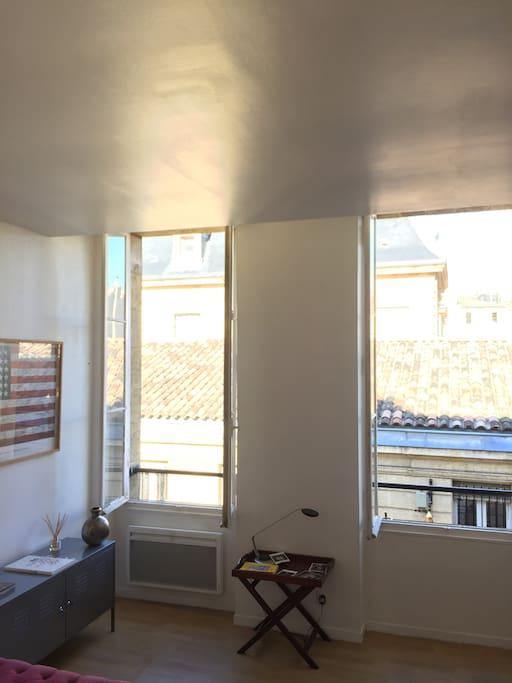 T2 spacieux et lumineux en plein c ur de bordeaux - Appartement spacieux lumineux en suede ...