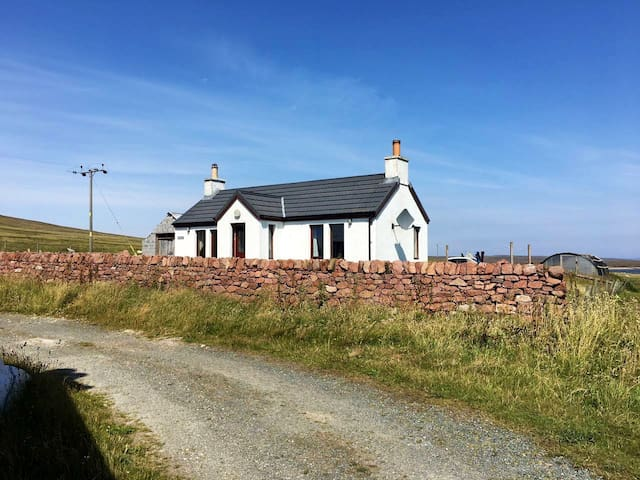 A cosy one bedroom croft house