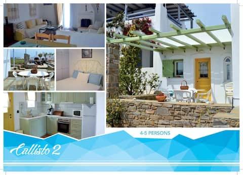 """Callisto 2"" House in Paros island."