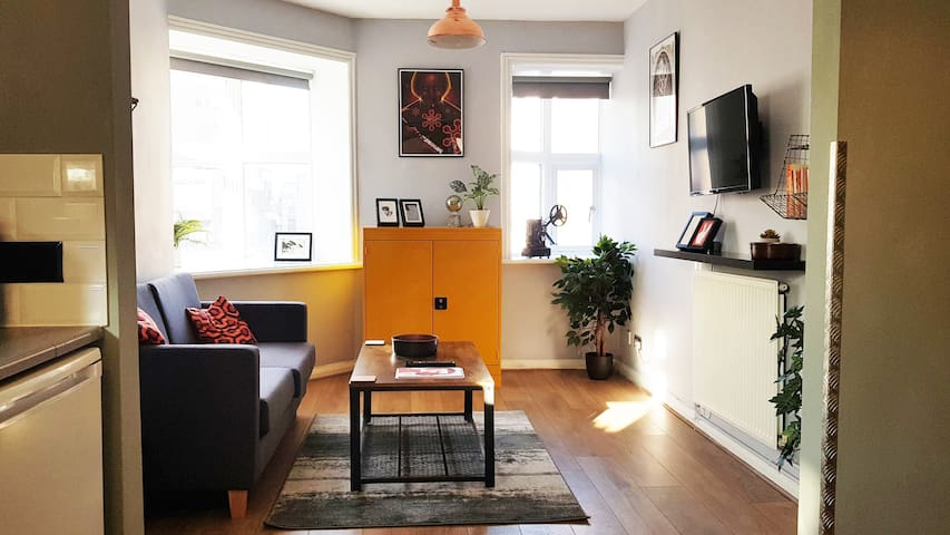 The living room, where all the living happens.