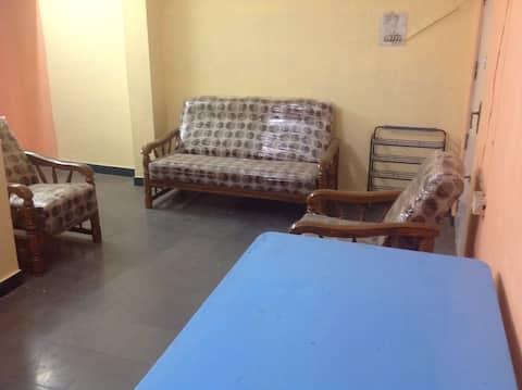 Fully Furnished apartment at New Nallakunta Shivam