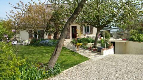 2 chambres privées Maison  à la campagne normande