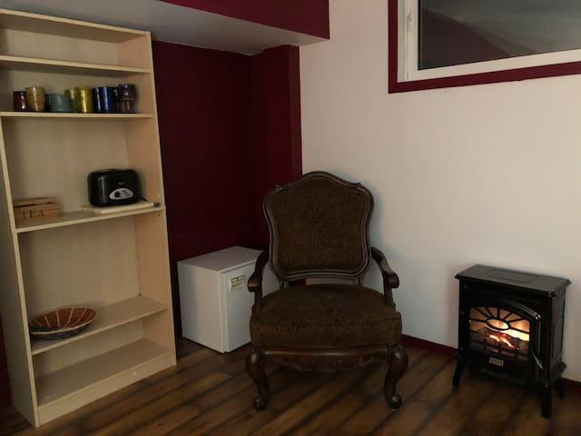 Private living area.