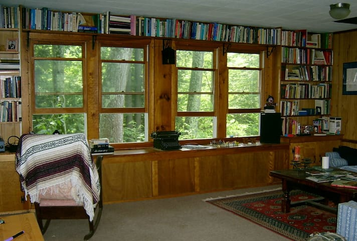 Study/Living/Meditation Room; great place for reading, morning meditation, a game of scrabble, or a nice conversation.