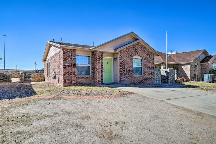 NEW! Updated El Paso Home w/ Yard: Walk to Dining!