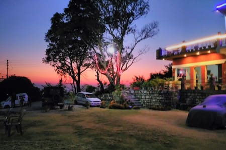 Valley facing Hill Top Non AC Room - Khala Gaon - Bed & Breakfast