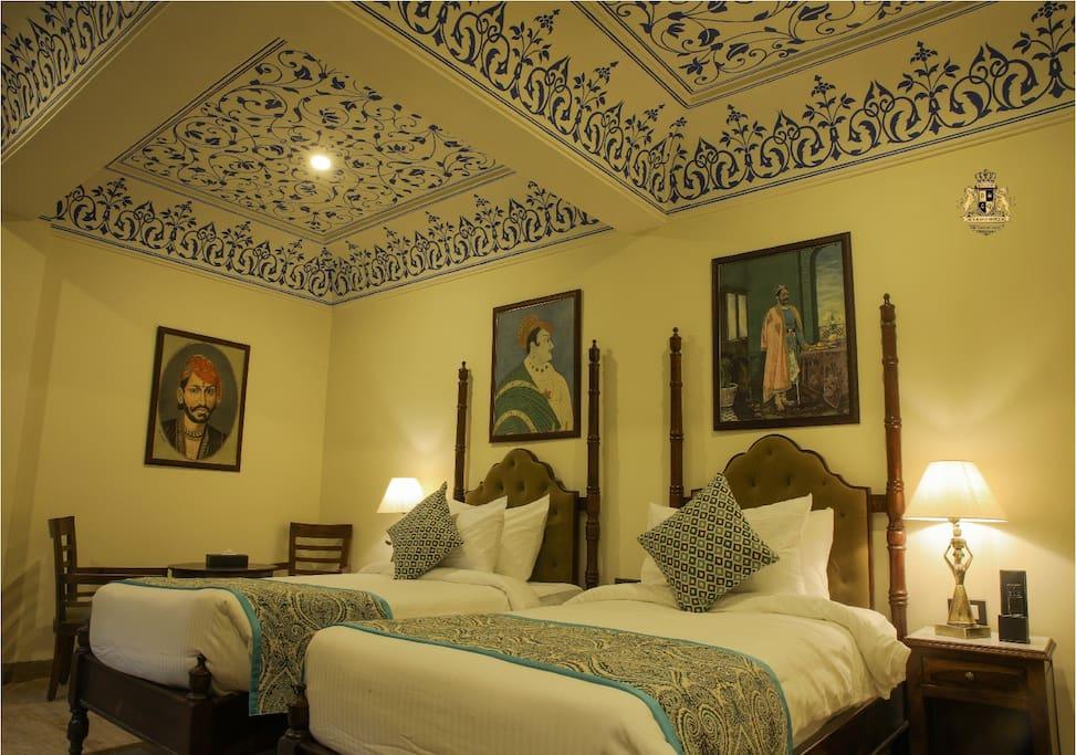 Haveli Room Twin Bedded