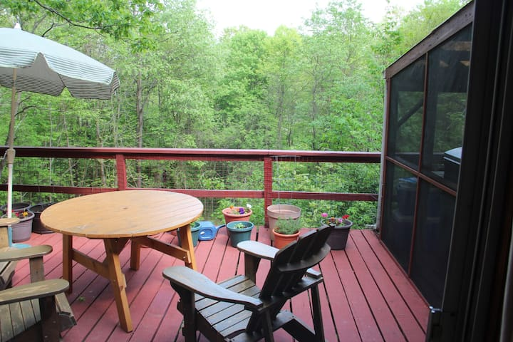 Secluded House with Views  and Lake Beach Access - Copake - Casa