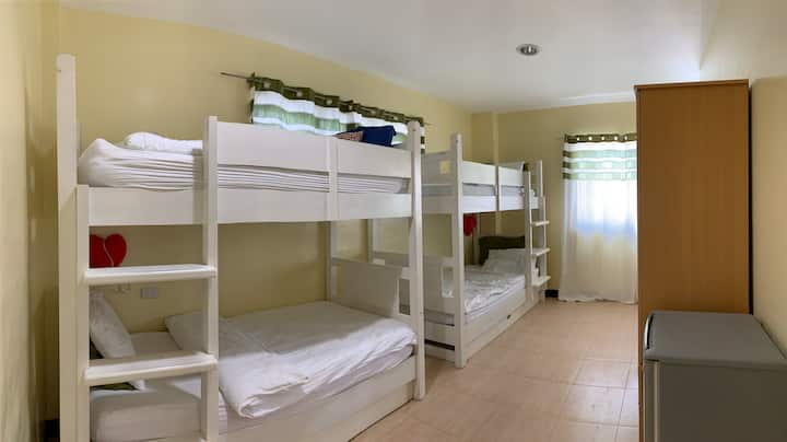 5A (Male Dormitory, 2 bunk beds. Good for 4 men)