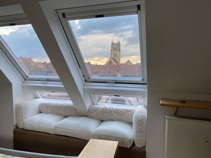 Cosy appartment in the old city with a great view