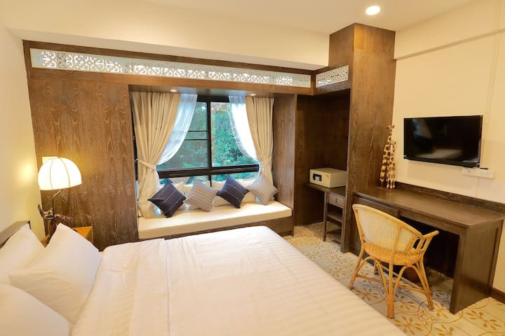 3A with temple and mountain view + free breakfast - Muang - Bed & Breakfast