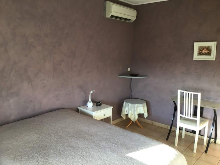 Chambre confort dans maison