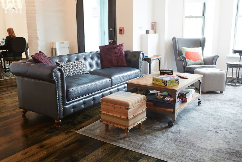 Our living rooms and common spaces