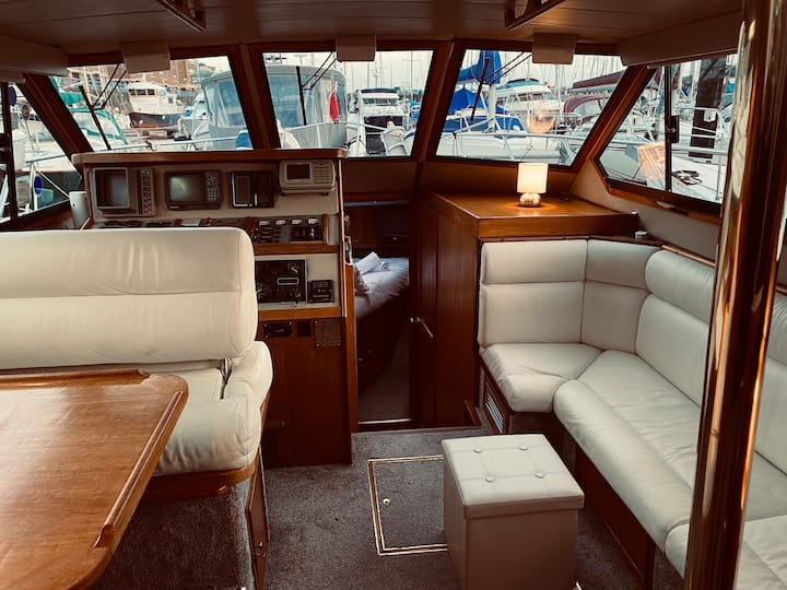A Stunning Motor Boat with Accommodation