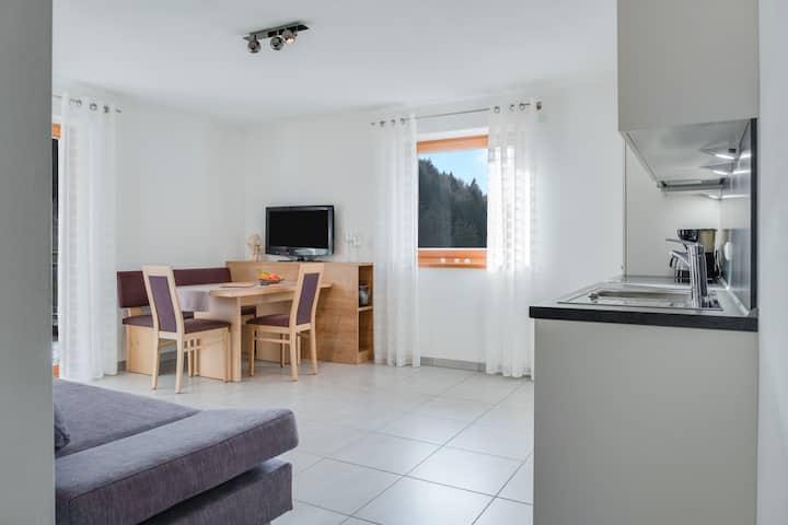 """Modern Apartment """"Hofschenke Pfeiftal Hofblick"""" with Terrace, Garden & WLAN; Parking Available, One Dog Allowed"""