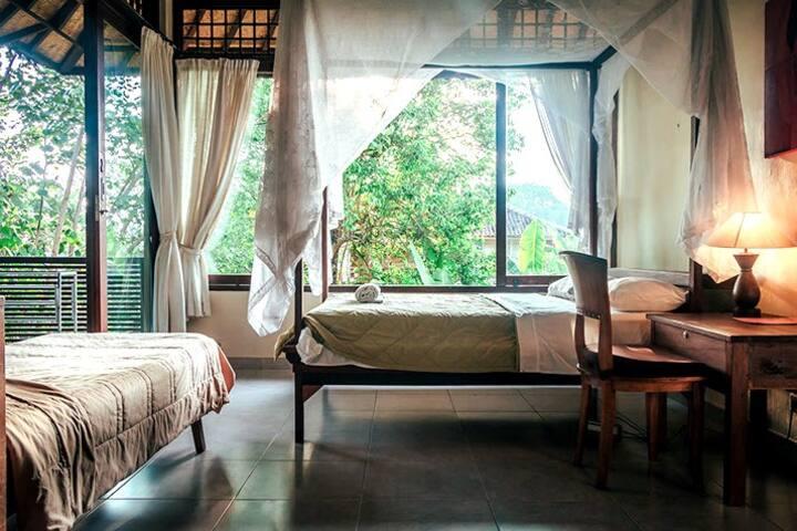 Garden Oasis~BnB in Ubud Atelier 1