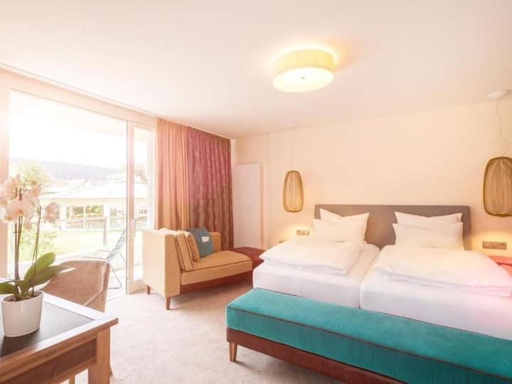 Hotel Traube Revital, (Wurmlingen), Doppelzimmer Superior Plus mit Balkon