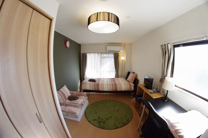 8mins Kyoto st. & NEAR BUS TERMINAL , PRIVATE  #37