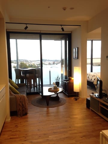 Stylish 1bed with view of Eden Park - Auckland - Apartment