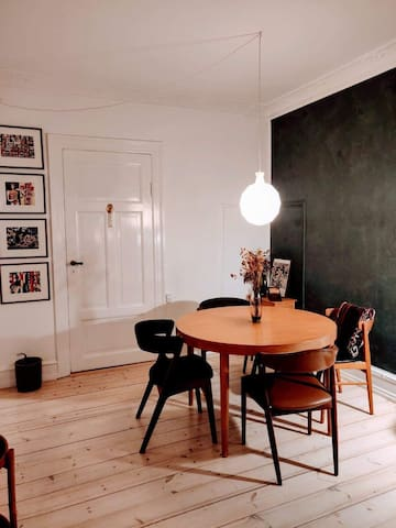 Charming apartment central cph