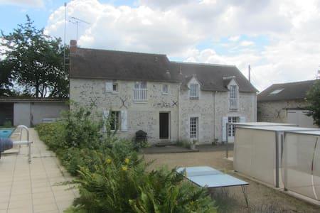 le VALLON Maison pr 8 campagne piscine futuroscope - Mondion - Hus