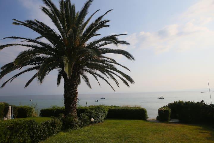 beach front villa Kassandra polychr - Halkidiki - Huis