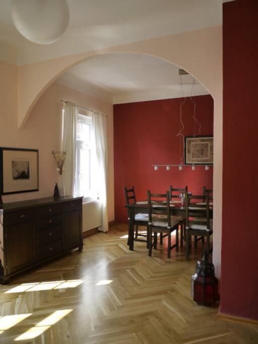 wohnen bei goethes erben goethe appartment wohnungen. Black Bedroom Furniture Sets. Home Design Ideas