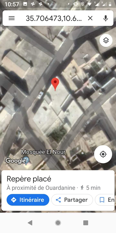 Étage de Maison Région de Sousse Monastir Tunisie
