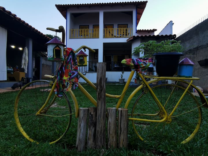 Pirenópolis - Casa Dom Pedro - Suíte -1.