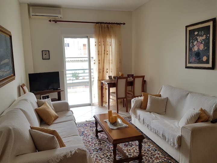 Cozy apartment in the center of Volos