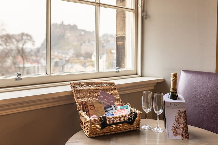 Castle View and Welcome Hamper