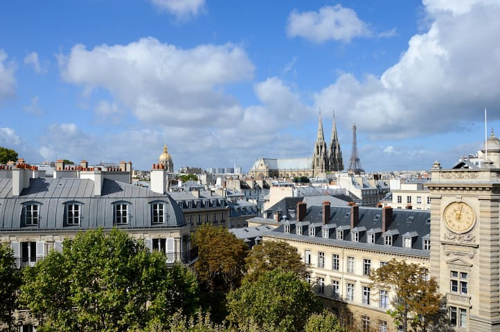 Duplex 2BR in Saint-Germain wonderful 360° view