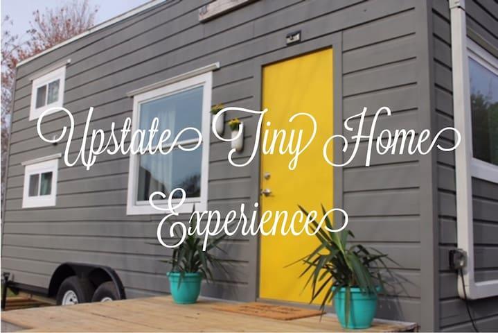Quaint Upstate Tiny Home Experience