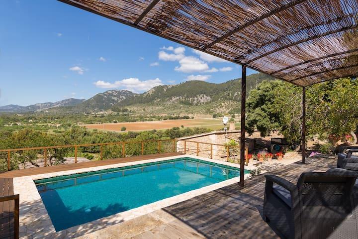 Es Pontet - Villa with pool in Campanet.
