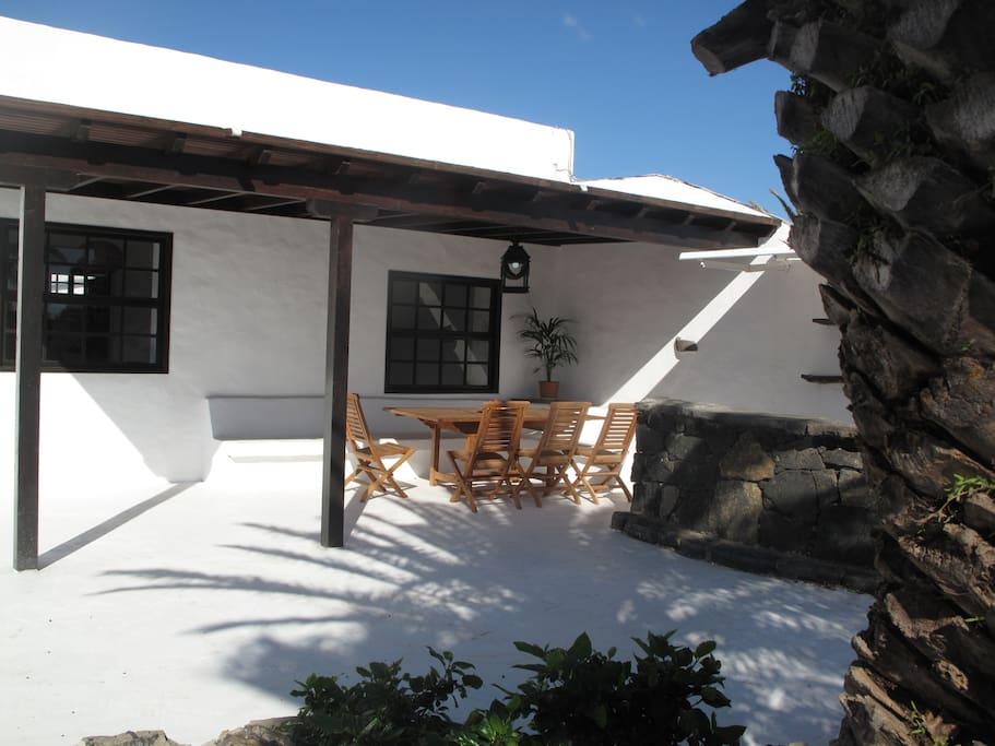 Detalle de terraza
