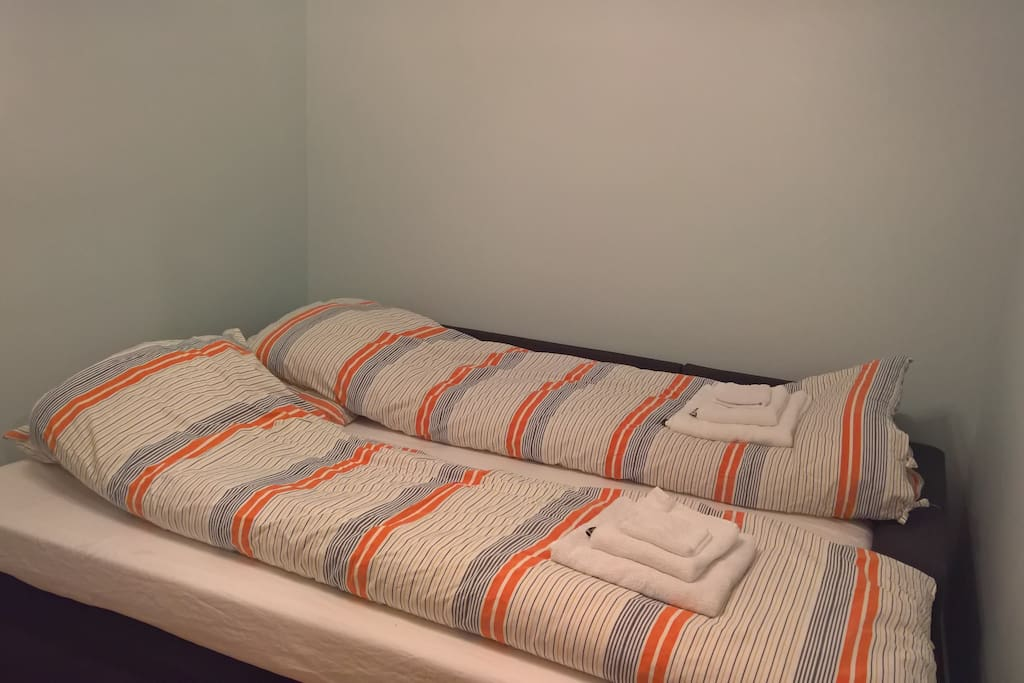 The second room used as a bedroom