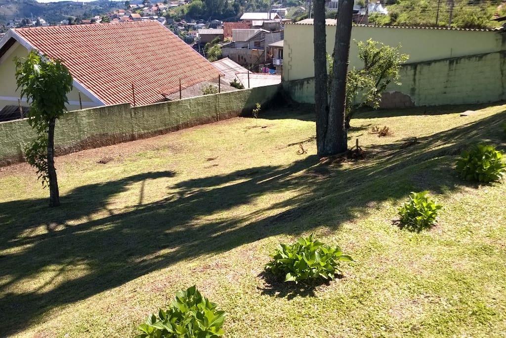 jardim exclusivo da casa