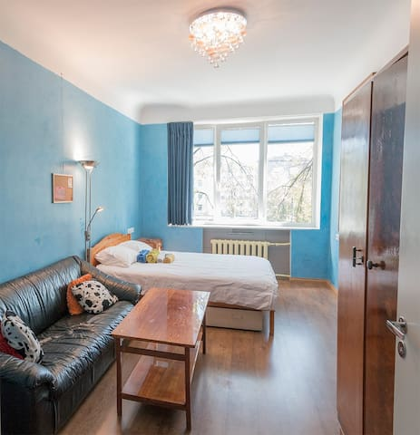 Spacious and cosy two room apartment in centre