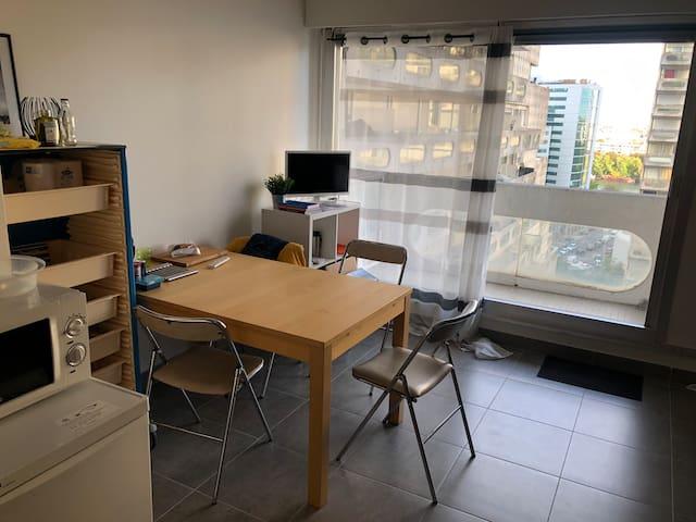 Appartement 27m2 situé à La Défense, 5 mn du métro