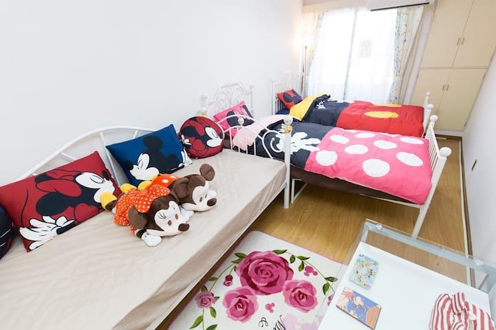 1 Bedroom Apt nr Mita STA Easy>Narita&Haneda WiFi - Minato-ku - Apartamento