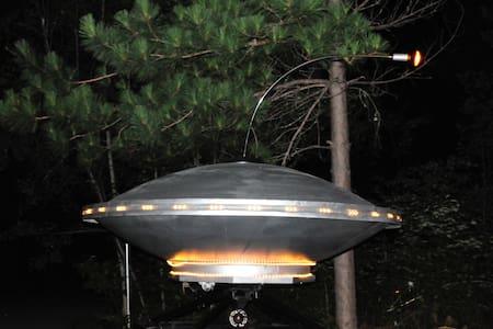 Sleep inside a UFO