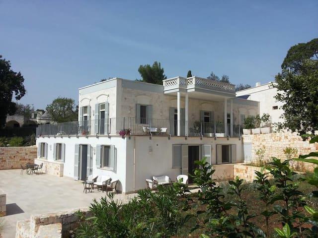 Villa Rosato- App. 35mq- 2 persone in pieno centro - Selva di Fasano - Apartamento