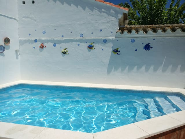 Villa with 3 bedrooms in Encinarejo de Córdoba, with private pool, furnished terrace and WiFi - 150 km from the beach