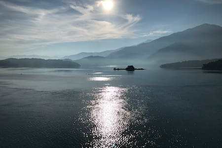 Sun Moon Lake with mountain view private house